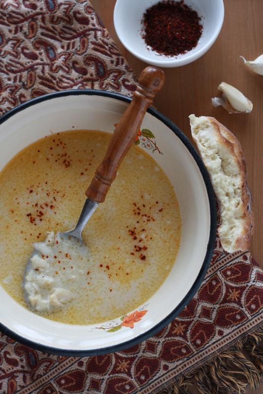 İşkembe çorbası czyli tureckie flaczki