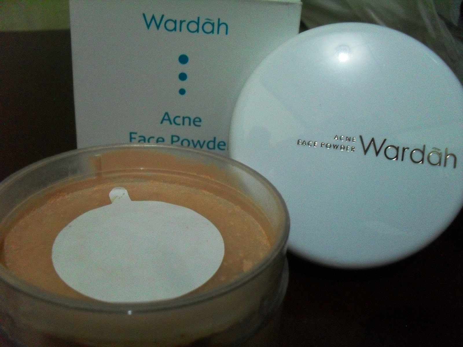 Harga Bedak Wardah Acne Face Powder