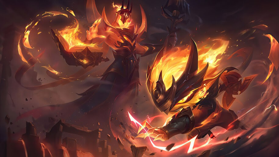 Infernal, Kennen, Splash Art, 8K, #3.2202