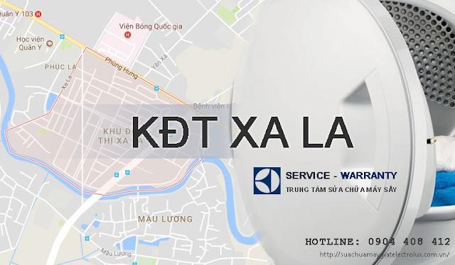 Sửa máy giặt Electrolux tại khu đô thị Xa La