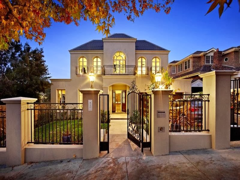 Hogares frescos fachadas de casas especial de hogares for Disenos de casas lujosas