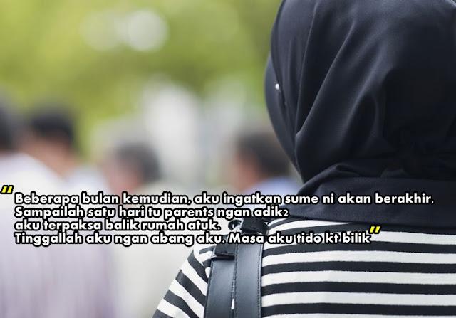hijab, gadis hijab, kisah sedih, rencana