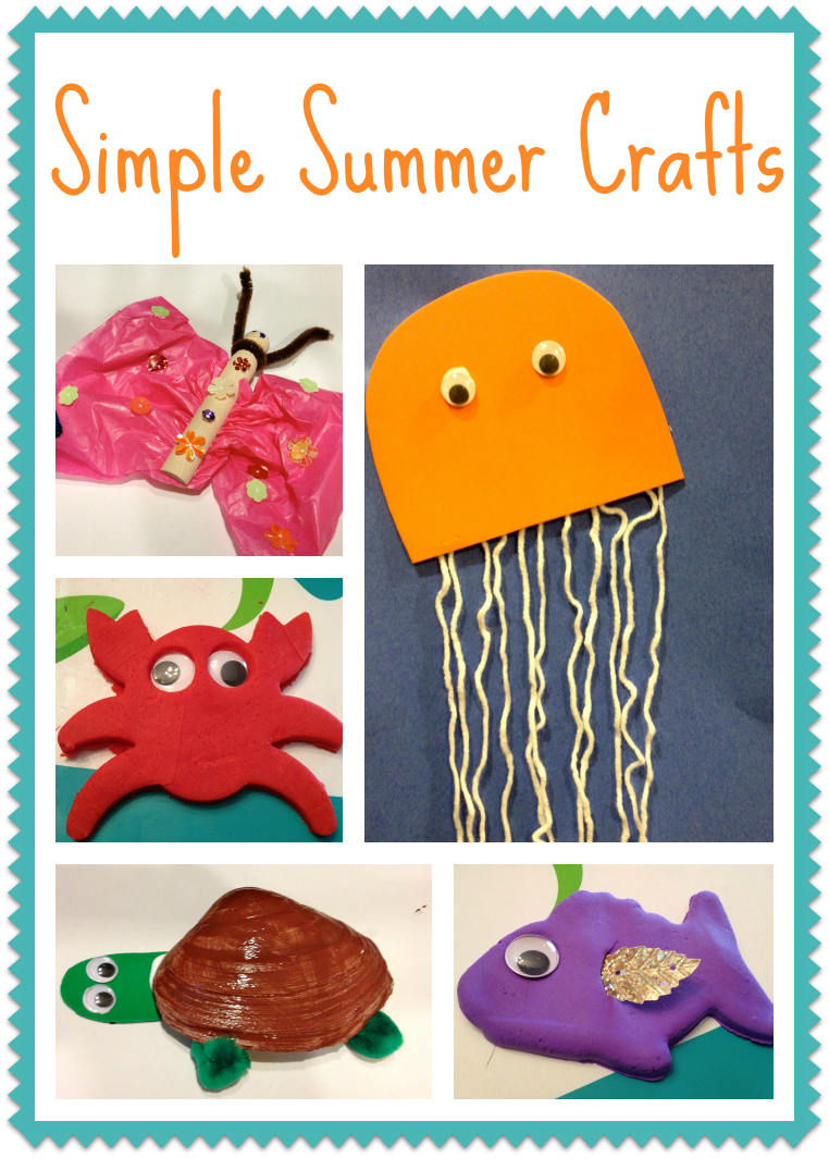 Summer Crafts for Kids || The Chirping Moms
