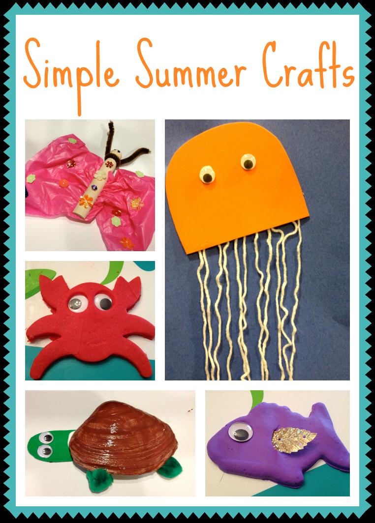 5 simple summer crafts