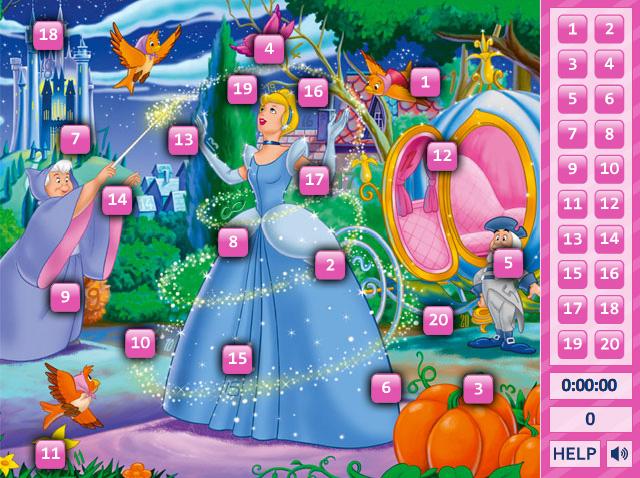 Cinderella Hidden Numbers 2