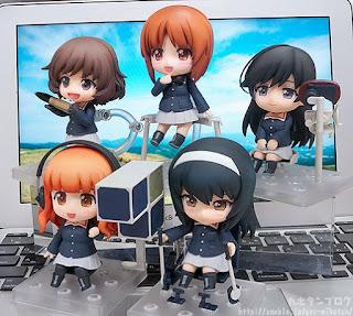 Nendoroid Miho Nishizumi Panzer Jacket & Peacoat Ver de Girls und Panzer der Film - Good Smile Company