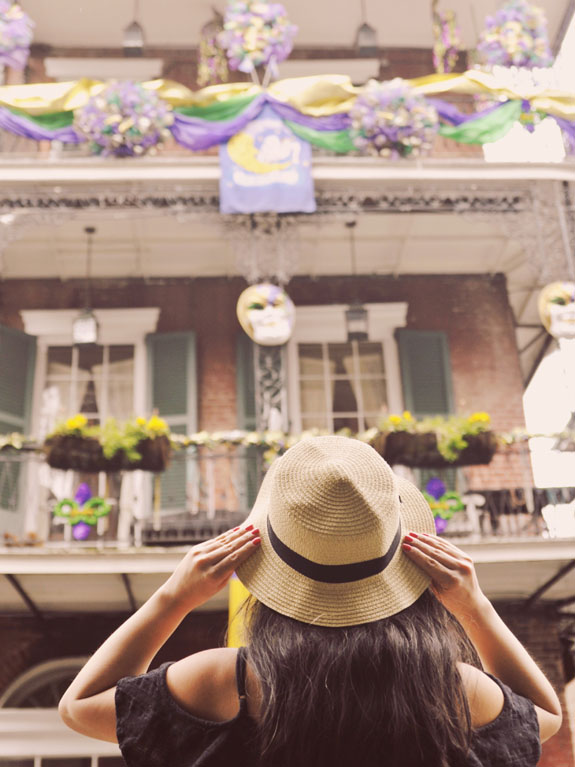 3 days in New Orleans Mardi Gras in the French Quarter