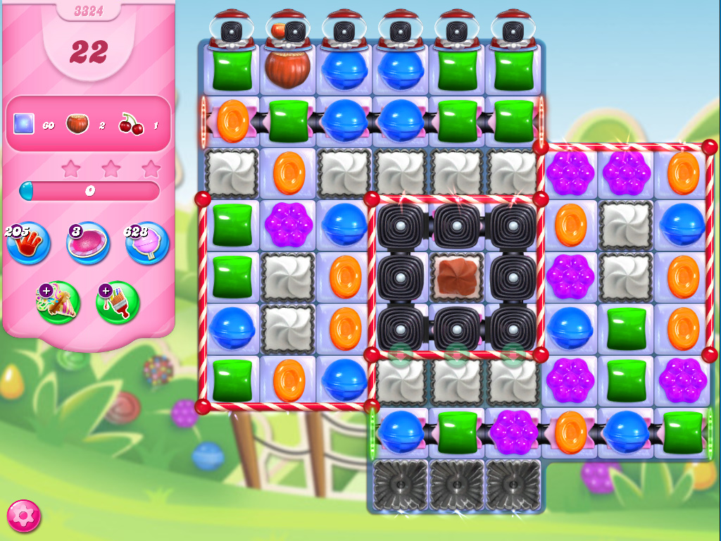 Candy Crush Saga level 3324
