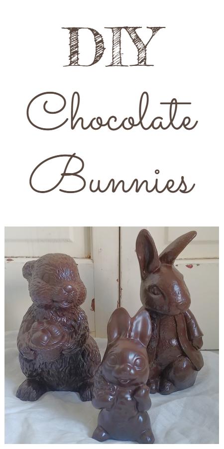 Easy DIY Chocolate Bunnies