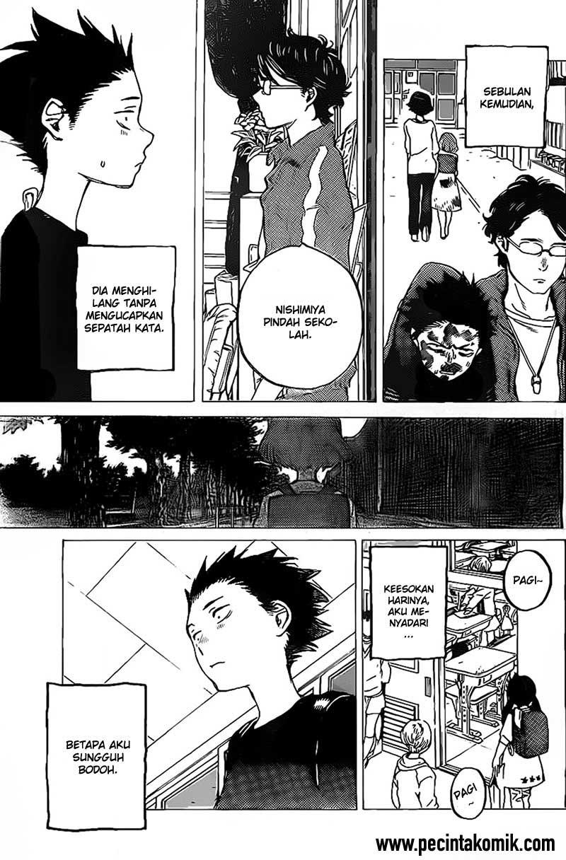 Koe no Katachi Chapter 04-21