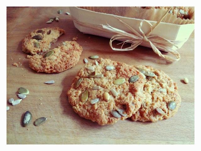 Cookies aux graines de courge