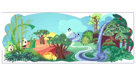 navigating the finite earth day google doodle and good friday