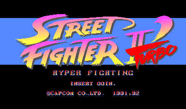 Street Fighter II Turbo - Hyper Fighting cover 1