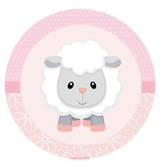 cute pink eid mubarak goat