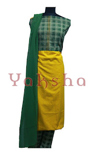 Patch work salwarkameez material