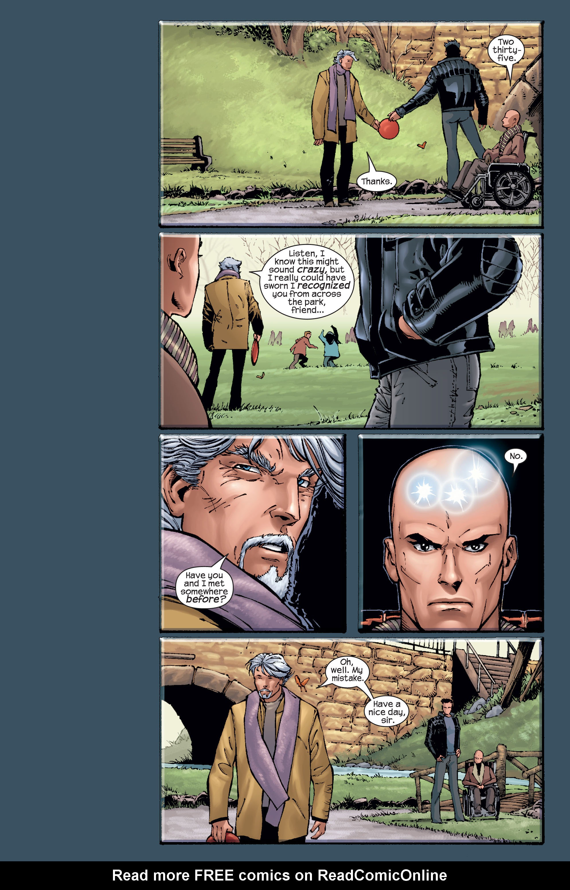 Read online Ultimate X-Men comic -  Issue #15 - 20