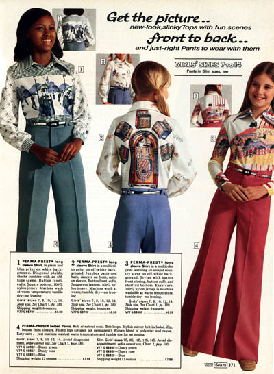 From The Pages Of The Sears Catalog Clothes From 1975 That I M Glad Haven T Had A Come Back