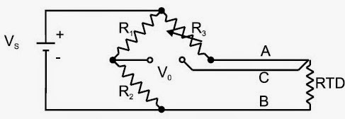Instrumentation: RTD Wiring Arrangements(2 Wire,3 Wire,4