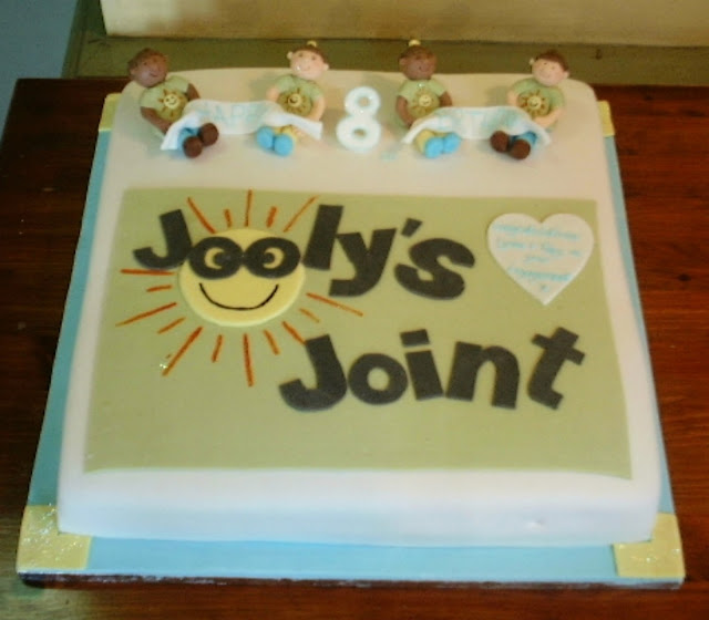 Jooly's Joint 8th birthday cake