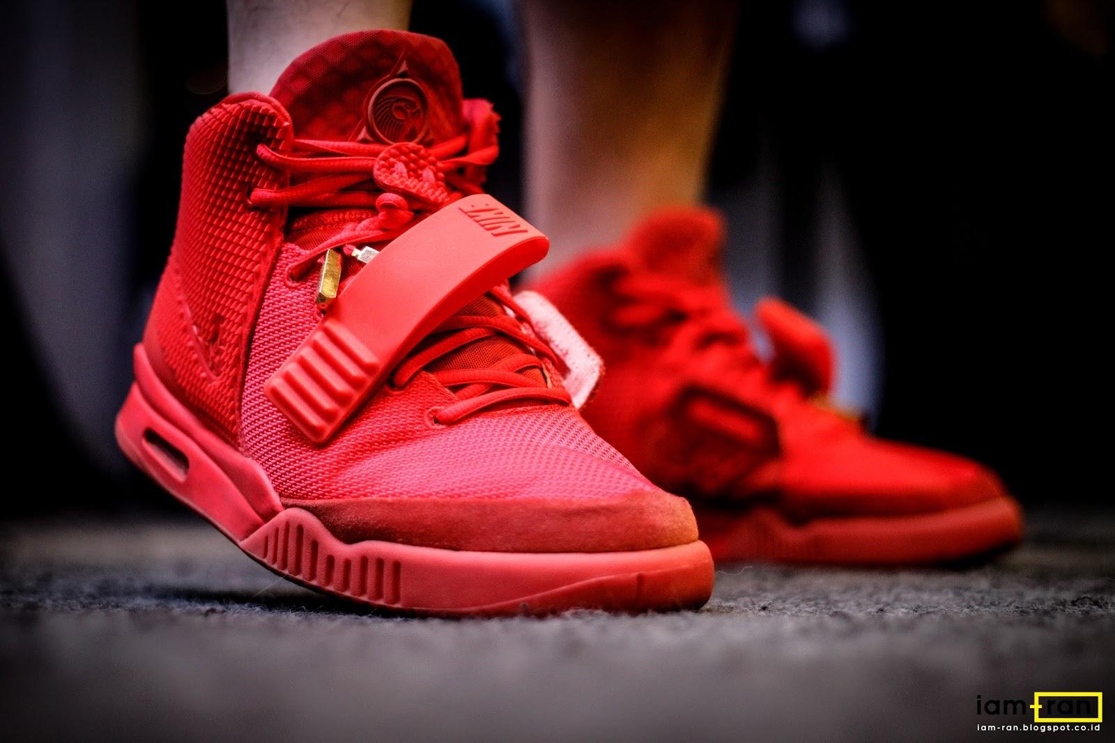 "IAM-RAN: ON FEET : Mike - Nike Air Yeezy 2 SP "" Red October"