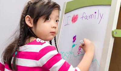 Cara Melatih Anak Belajar Menulis