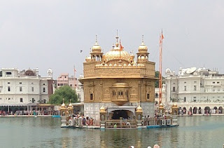 Golden Temple essay in Punjabi