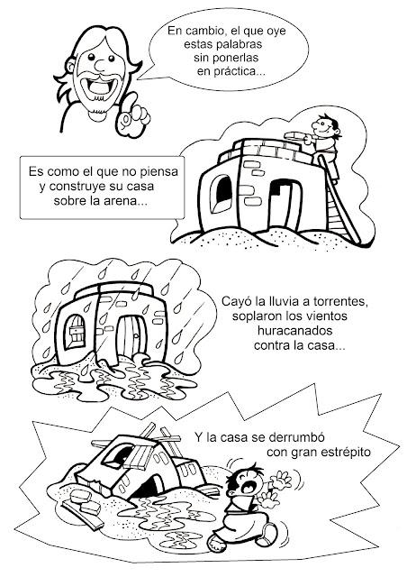 La Catequesis El Blog De Sandra Recursos Catequesis Parábola La