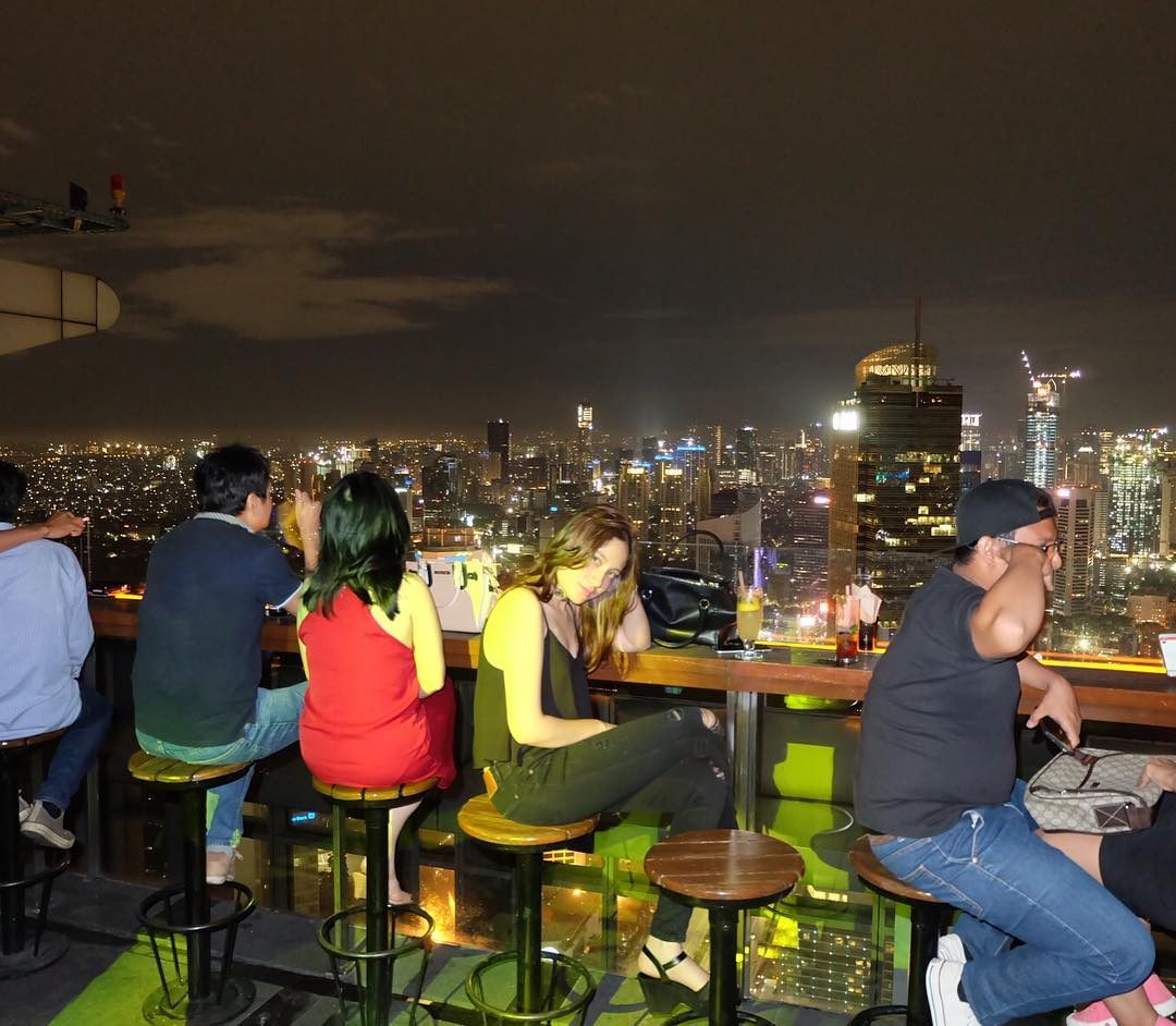 Cloud Is A Rooftop Bar Lounge Club Located On The 49th Floor Of Plaza Tower Just 3 Floors Above Altitude Which Part Same Group