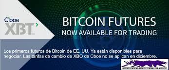Futuros de Bitcoin CBOE y CME