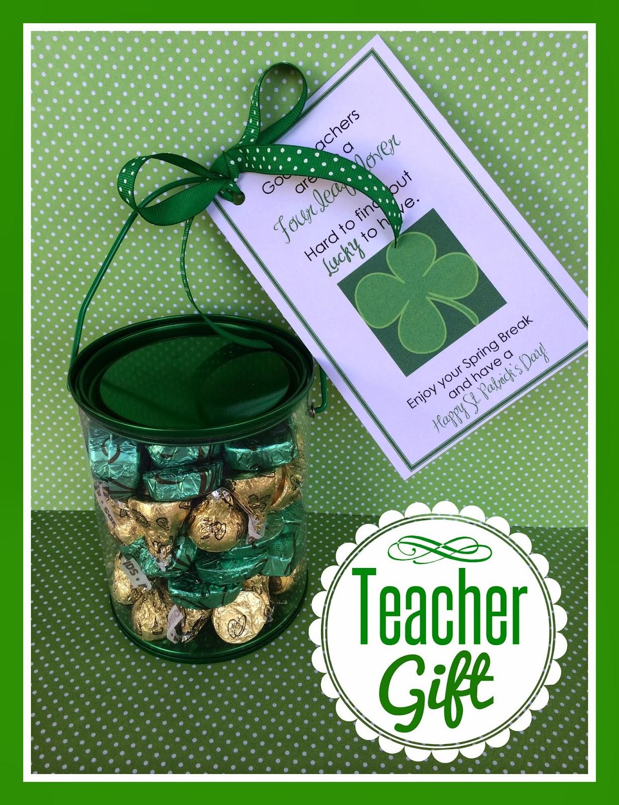 Marci Coombs St Patrick S Day Teacher Treats