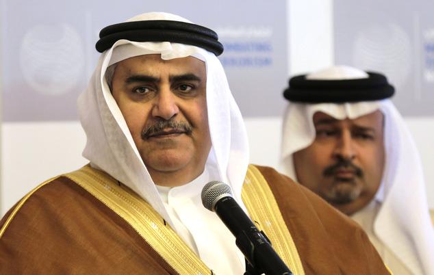 """O ministro das Relações Exteriores do Bahrein, mantendo a pressão sobre o Catar, reiterou na quinta-feira que Doha deve se distanciar do Irã e cessar o apoio a """"organizações terroristas"""""""