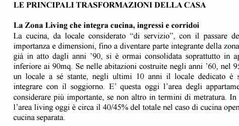 Come cambiata la casa degli italiani vabbe 39 anche fuori bergamo olivati immobiliare - Gb immobiliare milano ...
