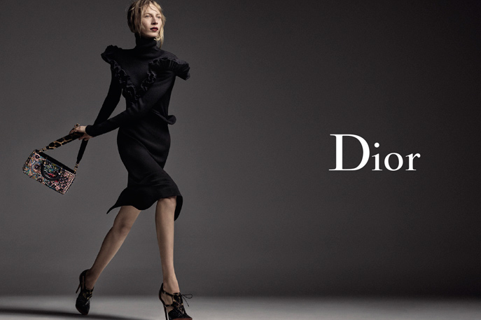Julia Nobis for Dior Autumn/Winter 2016 Campaign