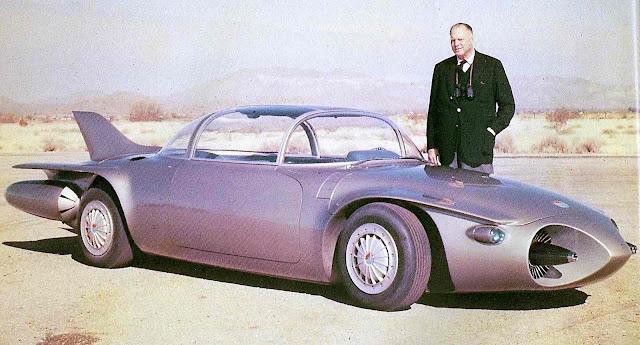 a color photograph of the 1956 General Motors Firebird