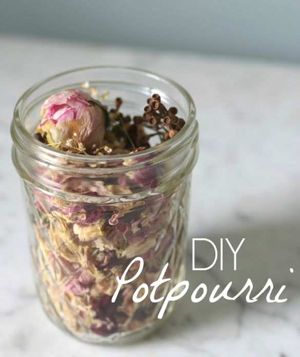 How To Make Diy Potpourri With Wedding Flowers 17 Apart