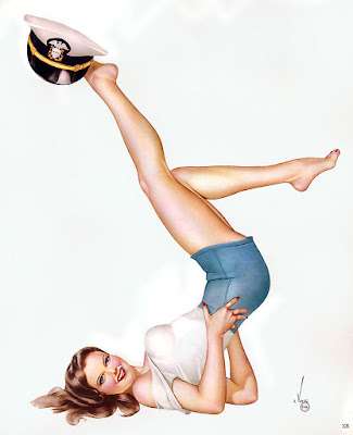 The history of the pinup girl