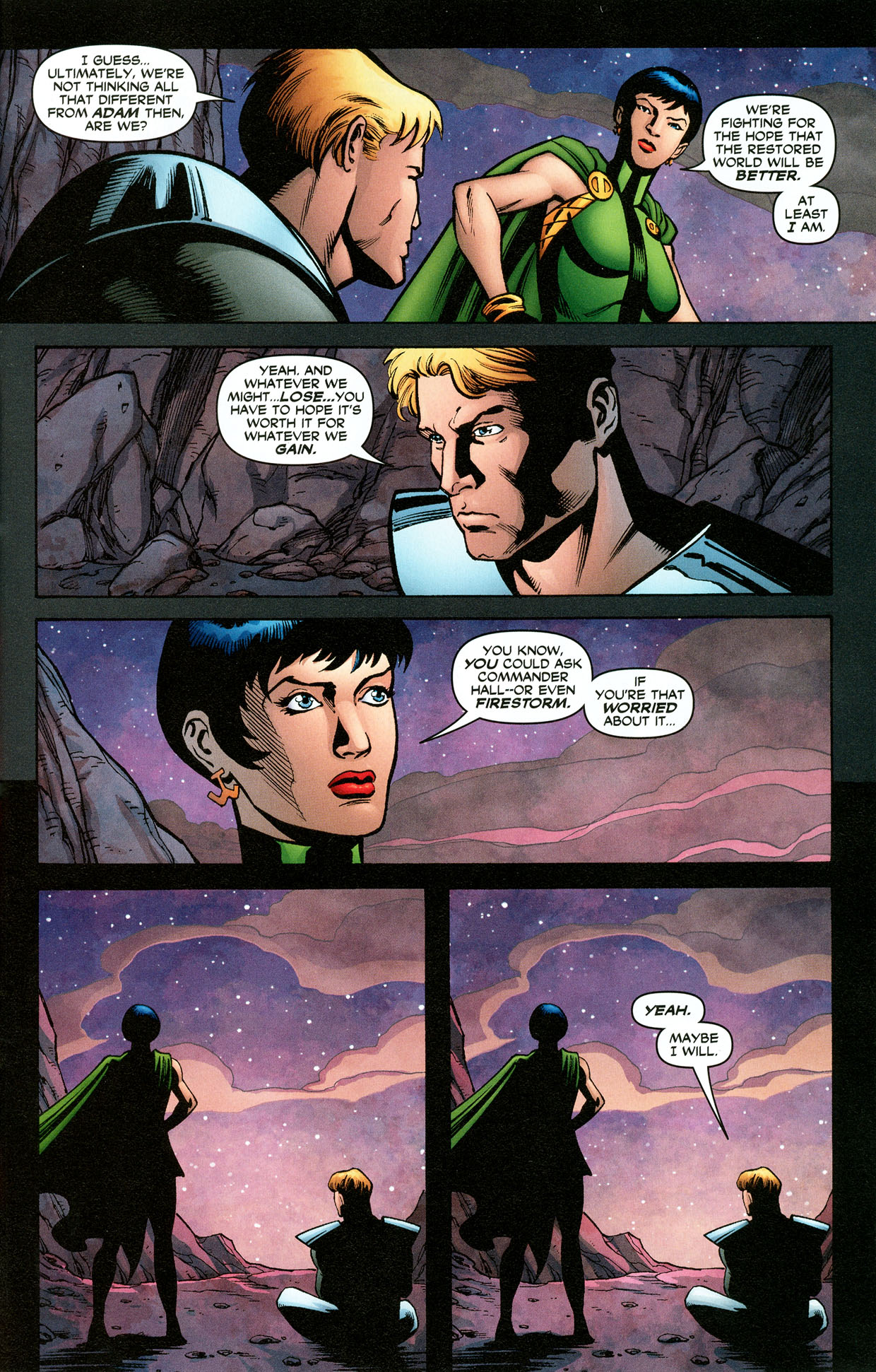 Read online Trinity (2008) comic -  Issue #32 - 28