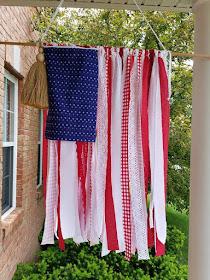 ribbon flag diy