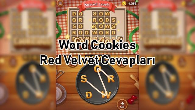 Word Cookies Red Velvet Cevaplari