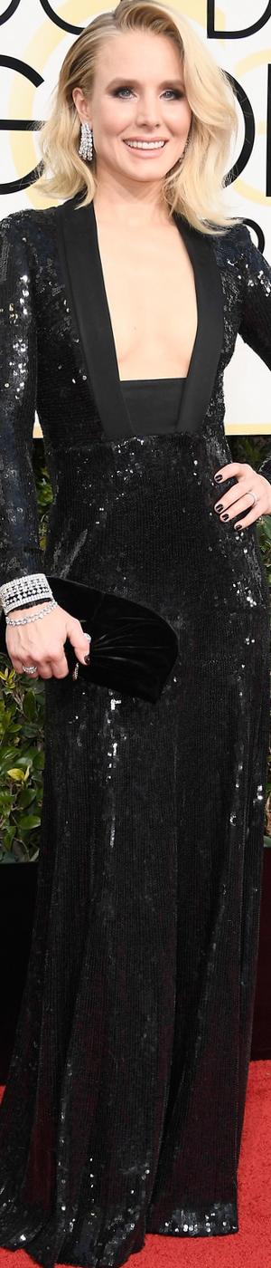 Kristen Bell 2017 Golden Globes