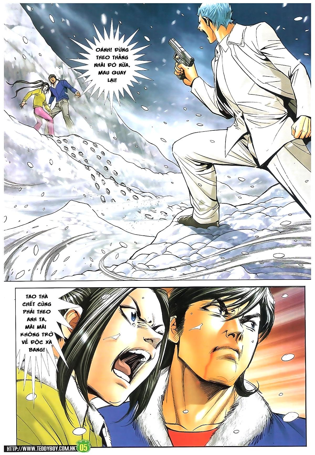 Người Trong Giang Hồ - Chapter 1616: Triệu Kế Bang vs Đinh Dao - Pic 4