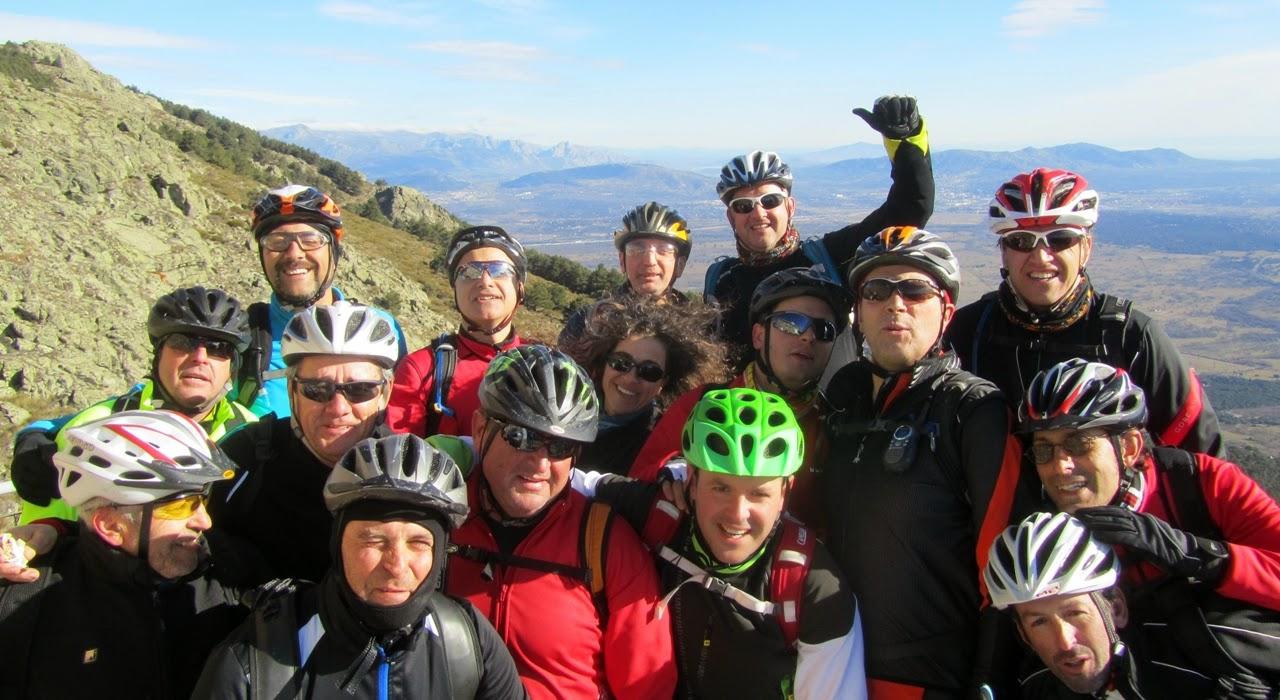 MTB en El Escorial y sus Zetas - Alfonsoyamigos