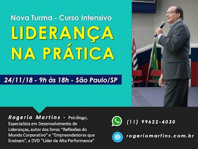 Palestrante Rogerio Martins