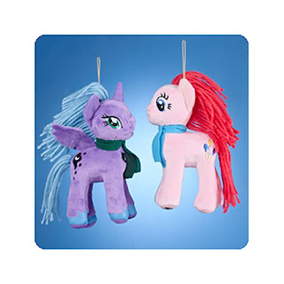 Kurt Adler Plush MLP Christmas Ornaments