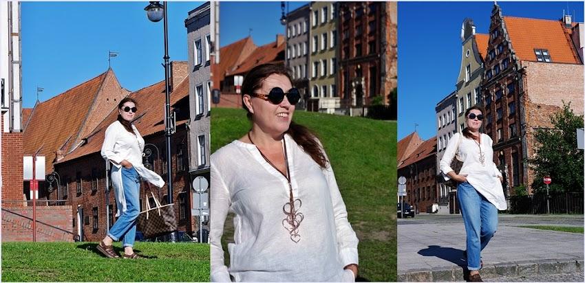 Lniana koszula/ linen shirt, Dr Martens, Michael Kors