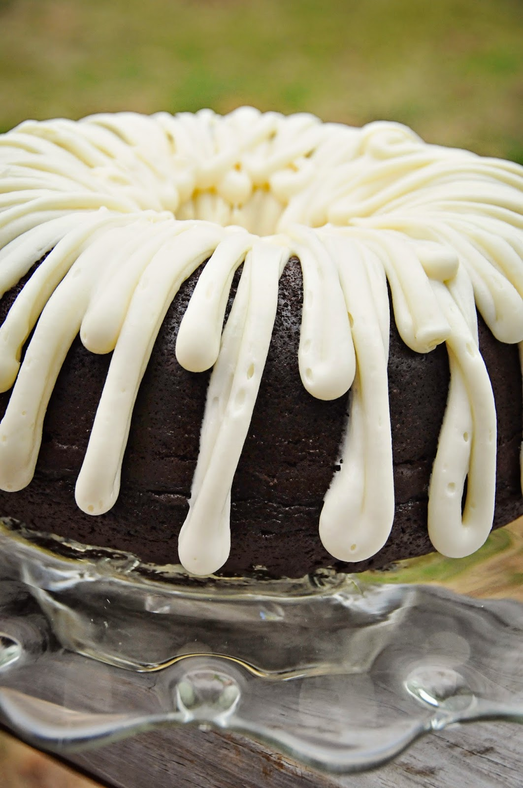 Barefoot And Baking Chocolate Bundt Cake With Cream