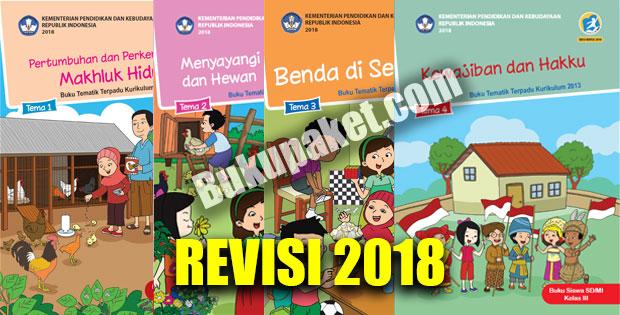 Buku Kurikulum 2013 Kelas 3 Semester 1 Revisi 2018