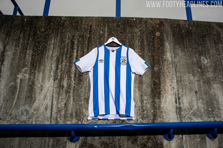 f2933b86 NO Sponsor: Umbro Huddersfield 19-20 Home & Away Kits Revealed ...