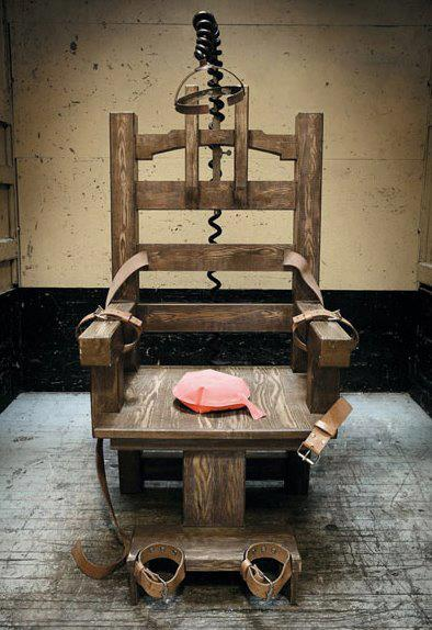 Electric chair some amazing facts - Execution chaise electrique video ...