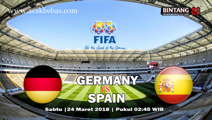 Prediksi Skor Germany vs Spain 24 Maret 2018